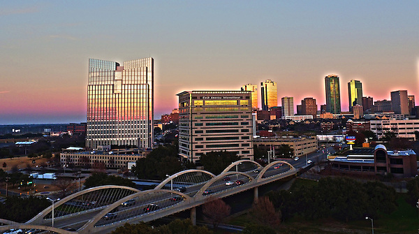 City Scape-Ft Worth