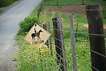 Horse riding sign..........................................