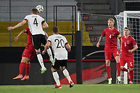 2nd June 2021, Tivoli Stadion, Innsbruck, Austria; International football friendly, Germany versus Denmark;  Matthias Ginter Germany gets his header towards goal