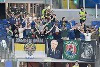 30th September 2021;  Stadio Olimpico, Rome, Italy;Europa League Football, SS Lazio versus Lokomotiv Moscow: Lokomotiv's supporters