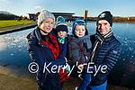 Deirdre, Oisin, Killian and Damien McMahon enjoying a stroll around the Tralee Wetlands on Sunday.
