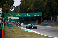 10th September, September 2021; Nationale di Monza, Monza, Italy; FIA Formula 1 Grand Prix of Italy, Free practise and qualifying for sprint race:  44 Lewis Hamilton GBR, Mercedes-AMG Petronas F1 Team, F1 Grand Prix of Italy at Autodromo Nazionale Monza on September 10, 2021 in Monza, Italy.