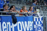 Fans des SV Darmstadt 98<br /> <br /> - 24.07.2021 Fussball 2. Bundesliga, Saison 21/22, Spieltag 1, SV Darmstadt 98 - SV Jahn Regensburg, Stadion am Boellenfalltor, emonline, emspor, <br /> <br /> Foto: Marc Schueler/Sportpics.de<br /> Nur für journalistische Zwecke. Only for editorial use. (DFL/DFB REGULATIONS PROHIBIT ANY USE OF PHOTOGRAPHS as IMAGE SEQUENCES and/or QUASI-VIDEO)