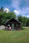 Kidney Pond Camp, Baxter State Park, Maine, USA