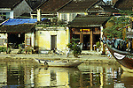 Hoi An 01 - Old buildings on Bach Dang St reflected in the Thu Bon river, Hoi An, Viet Nam