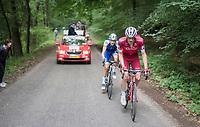 race leaders José Gonçalves (POR/Katusha-Alpecin) & Laurens De Plus (BEL/QuickStep Floors) <br /> <br /> Ster ZLM Tour (2.1)<br /> Stage 4: Hotel Verviers > La Gileppe (Jalhay)(190km)