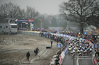 Elite Women's Start<br /> <br /> Grand Prix Adrie van der Poel, Hoogerheide 2016<br /> UCI CX World Cup