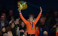 SPEEDSKATING: HEERENVEEN: 10-01-2020, IJsstadion Thialf, European Championship distances, 1500m Ladies, European champion Ireen Wüst (NED), ©foto Martin de Jong