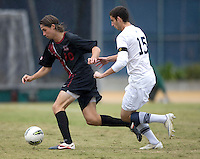 Berkeley, CA - November 11th, 2011: Taylor Amman of Stanford in action during a soccer game against California.  Stanford won, 3-0.