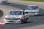 #51: Harrison Burton, Kyle Busch Motorsports, Toyota Tundra Hunt Brothers Pizza\Fields and #12: Alex Tagliani, Young's Motorsports, Chevrolet Silverado