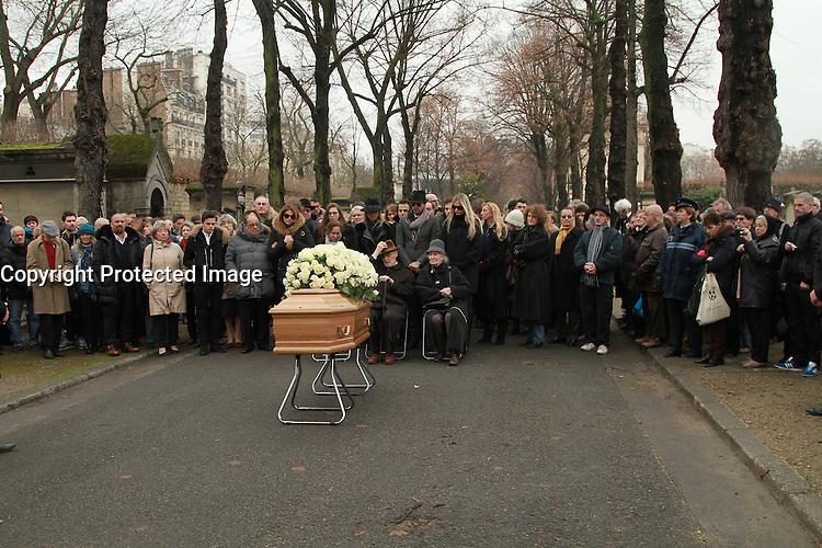 Famille et proches - OBSEQUES DE MICHELE MORGAN AU CIMETIERE DU MONTPARNASSE