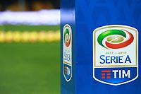 Palloni della Serie A e Banner  Logo Serie A Tim, Balls banner<br /> Benevento 04-02-2018  Stadio Ciro Vigorito<br /> Football Campionato Serie A 2017/2018. <br /> Benevento - Napoli<br /> Foto Cesare Purini / Insidefoto