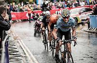 Ramses Debruyne (BEL)<br /> <br /> Junior Men road race<br /> from Richmond to Harrogate (148km)<br /> 2019 Road World Championships Yorkshire (GBR)<br /> <br /> ©kramon