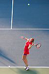 August 04, 2017: Petra Kvitova (CZE) in action against Catherine Bellis (USA) at the Bank of the West Classic being played at the Taube Tennis Stadium in Stanford, California. ©Mal Taam/TennisClix/CSM