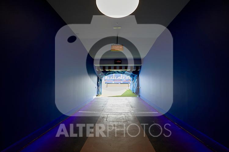 Getafe CF's Coliseum Alfonso Perez instalations in Getafe, Spain. September 04, 2018. (ALTERPHOTOS/A. Perez Meca)