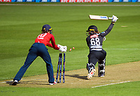 England's Amy Jones stumps Brooke Halliday during the first international women's T20 cricket match between the New Zealand White Ferns and England at Sky Stadium in Wellington, New Zealand on Wednesday, 3 March 2021. Photo: Dave Lintott / lintottphoto.co.nz