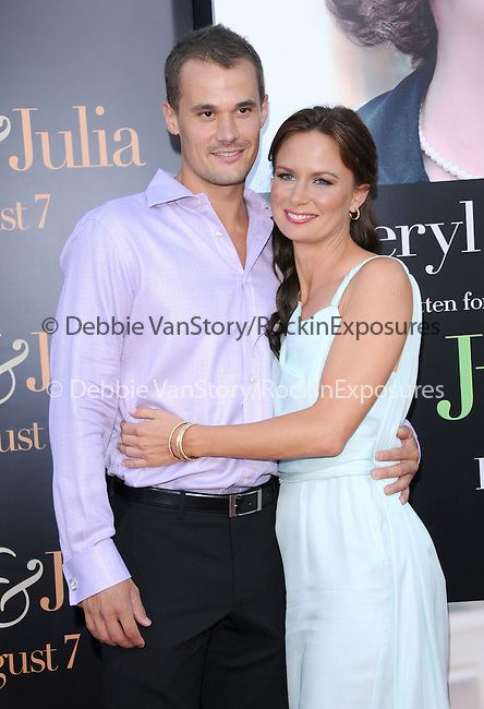 Mary Lynn Rajskub & Matthew Rolph at The Columbia Pictures' Screening of  Julie & Julia held at The Mann's Village Theatre in Westwood, California on July 27,2009                                                                   Copyright 2009 Debbie VanStory / RockinExposures