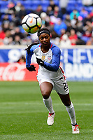 Harrison, NJ - Sunday March 04, 2018: Taylor Smith during a 2018 SheBelieves Cup match match between the women's national teams of the United States (USA) and France (FRA) at Red Bull Arena.
