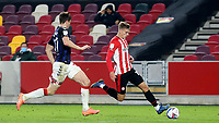 Marcus Forss of Brentford in action during Brentford vs Middlesbrough, Sky Bet EFL Championship Football at the Brentford Community Stadium on 7th November 2020
