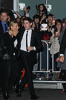 """LOS ANGELES, CA - JANUARY 27: Zac Efron at the Los Angeles Premiere Of Focus Features' """"That Awkward Moment"""" held at Regal Cinemas L.A. Live on January 27, 2014 in Los Angeles, California. (Photo by David Acosta/Celebrity Monitor)"""