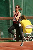 4 April 2007: Laura Mottaz during the Stanford Invitational at Cobb Track and Angell Field in Stanford, CA.