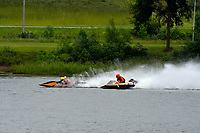 Frame 1: 30-H, 44-S spins out in turn 2   (Outboard Hydroplanes)   (Saturday)