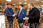 Mickael Healy Rae speaking with Alan Foster of Feirini Jewellers on the campaign trail with Kerry's Eye Reporter David Byrne.