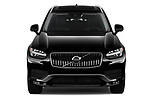 Car photography straight front view of a 2020 Volvo XC90 Momentum 5 Door SUV Front View