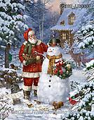 Liz,CHRISTMAS SANTA, SNOWMAN, WEIHNACHTSMÄNNER, SCHNEEMÄNNER, PAPÁ NOEL, MUÑECOS DE NIEVE, paintings+++++,USHCLD0303,#x#