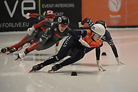 SPEEDSKATING: DORDRECHT: 06-03-2021, ISU World Short Track Speedskating Championships, SF 500m Ladies, Selma Poutsma (NED), ©photo Martin de Jong