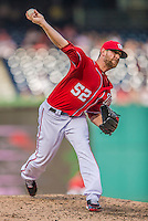 15 September 2013: Washington Nationals pitcher Ryan Mattheus on the mound against the Philadelphia Phillies at Nationals Park in Washington, DC. The Nationals took the rubber match of their 3-game series 11-2 keeping their wildcard postseason hopes alive. Mandatory Credit: Ed Wolfstein Photo *** RAW (NEF) Image File Available ***
