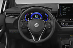Car pictures of steering wheel view of a 2021 Suzuki Swace GLX 5 Door Wagon Steering Wheel