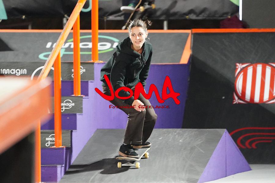 6th November 2020; Parc del Forum, Barcelona, Catalonia, Spain; Imagin Extreme Barcelona; picture show Camila Ruiz (ARG) during women street final