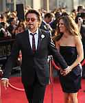 Robert Downey Jr. & Susan Downey at the Marvel World Premiere of Iron Man 2 held at The El Capitan Theatre in Hollywood, California on April 26,2010                                                                   Copyright 2010  DVS / RockinExposures