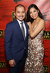 """Jon Jon Briones and Eva Noblezada attend The Opening Night After Party for the New Broadway Production of """"Miss Saigon"""" at Tavern on the Green on March 23, 2017 in New York City"""