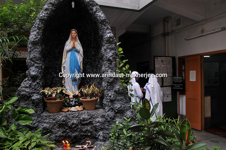 Mother's House, Kolkata, West Bengal, India. 18th August 2010. Arindam Mukherjee