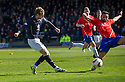 Dundee's Martin Boyle scores their second goal.