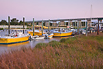 Shrimp boats on Lazaretto Creek, Tybee Island, SC