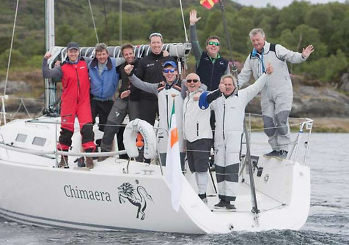 Andrew Craig's J/109 Chimaera from Dun Laoghaire wins the 2019 Scottish Series