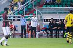 AC Milan Coach Vincenzo Montella gestures during the International Champions Cup 2017 match between AC Milan vs Borussia Dortmund at University Town Sports Centre Stadium on July 18, 2017 in Guangzhou, China. Photo by Marcio Rodrigo Machado / Power Sport Images