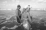 Jimmy and Susan in Fernandina Beach, Fla. July 24, 2010.