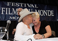 Montreal (Qc) Canada - August 24 2008 - Tony Curtis and wife Jill-CAPTION UPDATE : Tony Curtis dies at 85 - Sept 2010 -