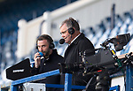 Rangers v St Mirren:  Kevin Thomson and Clive Tyldsley on TV commentary duties for RTV