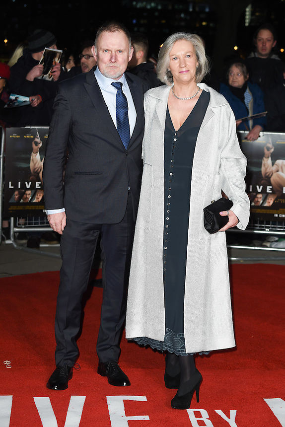 "Robert Glenister<br /> at the ""Live by Night"" premiere at BFI South Bank, London.<br /> <br /> <br /> ©Ash Knotek  D3217  11/01/2017"