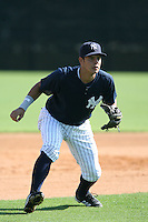 March 17th 2008:  Walter Ibarra of the New York Yankees minor league system during Spring Training at Legends Field Complex in Tampa, FL.  Photo by:  Mike Janes/Four Seam Images