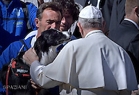 Nobel Peace Prize for Colombia President Juan Manuel Santos .June 15, 2015 - Vatican City State (Holy See) - POPE FRANCIS meets President of Colombia JUAN MANUEL SANTOS at the Vatican.