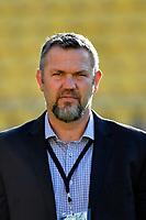 Coach Reuben Thorne of Canterbury looks on before the Bunnings NPC - Wellington v Canterbury at Sky Stadium, Wellington, New Zealand on Friday 8 October 2021.<br /> Photo by Masanori Udagawa. <br /> www.photowellington.photoshelter.comto