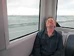 John Kieffer departing Amsterdam, Netherlands,