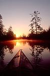 Sea kayak, Chehalis Surge Plain, Grays Harbor, Washington State, Pacific Northwest, USA