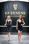 No Repro Fee.<br /> Models Sarah Morrissey and Aoife Walsh pictured at the launch of the GUINNESS® by Newbridge Silverware Collection at the GUINNESS® STOREHOUSE.  This new and exciting collaboration sees the coming together of two iconic brands to produce a carefully created premium collection of jewellery, homeware and gifts that reflect the rich history of crafting expertise and excellence that is synonymous with both companies. The collection is available now in selected stockists nationwide and online at <br /> www.newbridgesilverware.com/guinness.   Pic. Robbie Reynolds